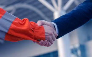 An image of a handshake