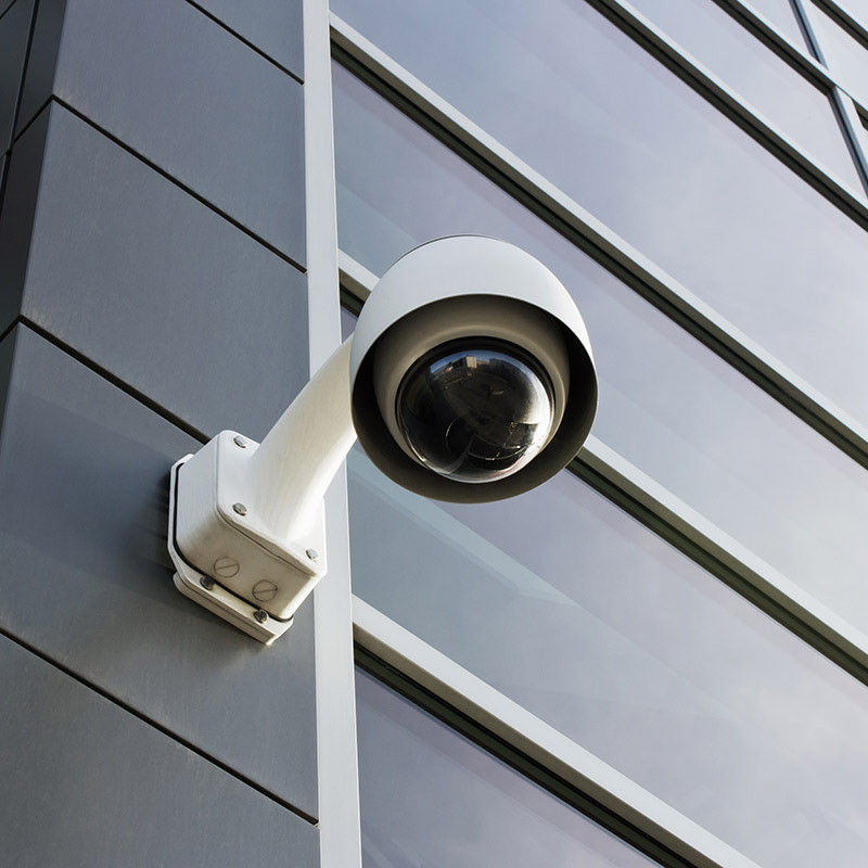 An image of a modern CCTV