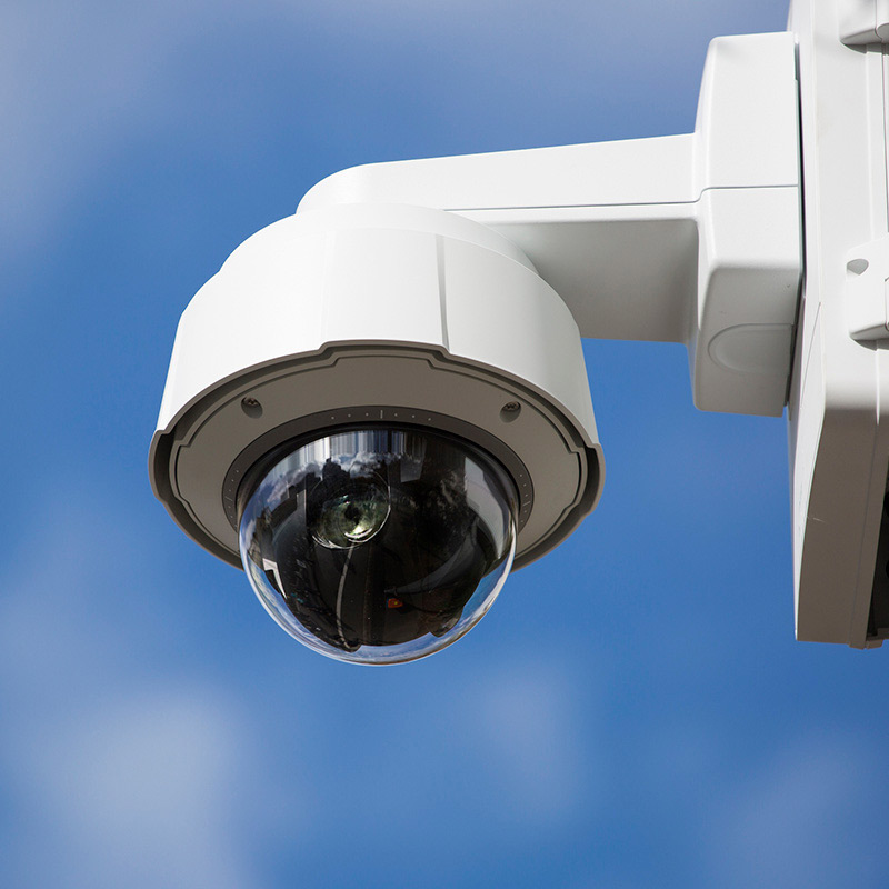Modern CCTV sky