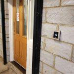 An image of door entry